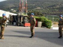 Libano: cambio comando tra Col. Arivella e Col. Giannattasio