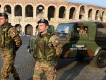 Addestramento militare lungo i Bastioni
