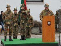 Cerimonia di avvicendamento al comando del 6° reggimento Alpini