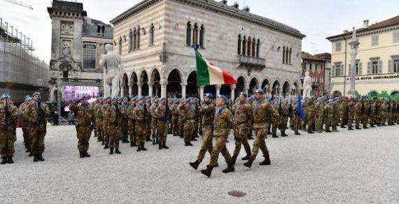 """La brigata alpina""""Julia"""" in rientro dal Libano"""