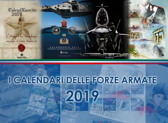 Calendario Carabinieri Dove Si Compra.Presentati I Calendari Per L Anno 2019 Delle Forze Armate