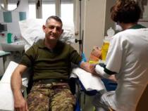 Solidarietà: I militari del Savoia donano sangue e plasma