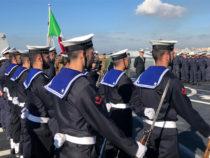 Taranto: Operazione Mare Sicuro, cambio del Comandante