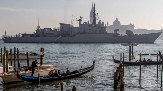 "Marina Militare: Dopo 37 anni radiata la ""Fregata Maestrale"""