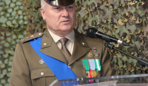 Il Gen. Marco Aiuti cede il comando al Gen. Rodolfo Pascali