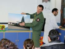 Aeronautica: I piloti all'Ospedale Pediatrico Bambino Gesù