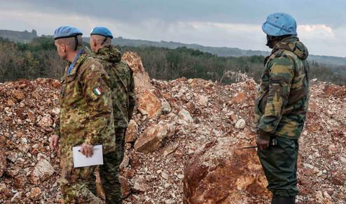Estero: I caschi blu italiani addestrano le forze libanesi
