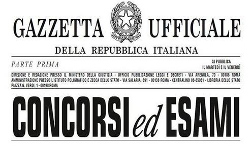 Veneto: In Gazzetta Ufficiale bandi di concorso per 171 posti