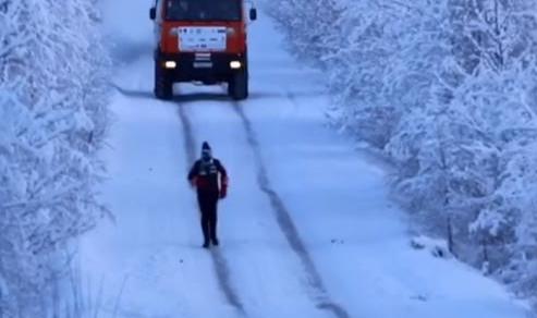 Paolo Venturini: Sfida al freddo estremo