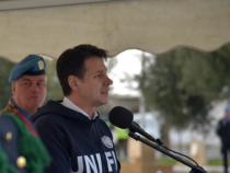 Libano Unifil: Visita del Presidente Giuseppe Conte