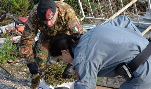 """Ambiente: Esercito e Forze di Polizia, """"Action Day"""" in Terra dei Fuochi"""
