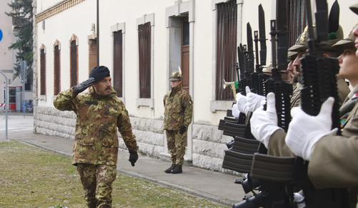Generale Farina in visita in Friuli Venezia Giulia