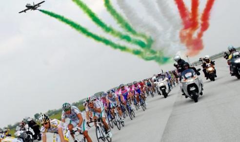 Giro d'Italia 2020: Una delle tappe partirà dall'aeroporto di Rivolto
