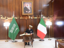 Arabia Saudita: Girardelli incontra i vertici della Marina saudita