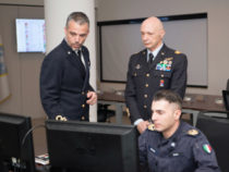 Centro Operativo Marina Militare: Visita del Gen.Vecciarelli
