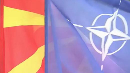 Estero: Su Skopje sventola la bandiera della Nato