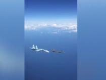 Caccia russo sfiora F-15 americano e lo costringe a virare
