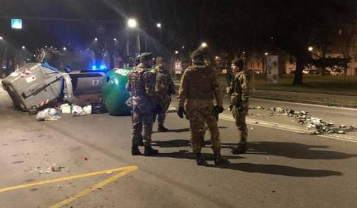 Cronaca: Ferrara, rivolta degli immigrati
