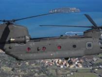 In volo con il 3° REOS dell'Aviazione dell'Esercito