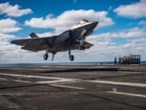 Aeronautica: F-35C, raggiunta la Capacità Operativa Iniziale (IOC)
