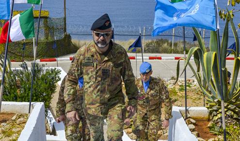 Libano: Capo di Stato Maggiore del COI in visita al Contingente italiano