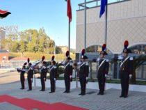 Tofalo in Visita al Comando Legione Carabinieri Calabria