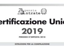 Certificazione unica 2019 pensionati online