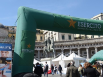 """Napoli: L'Esercito alla manifestazione nazionale """"Salute"""""""