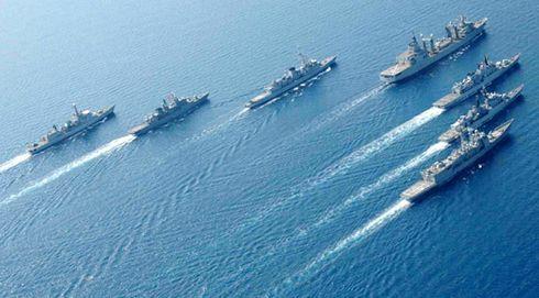 Marina Militare: Al via la seconda fase dell'esercitazione Mare Aperto 2019-2