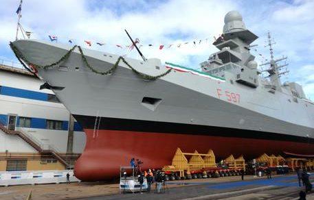 """Marina militare: Consegnata la FREMM """"Antonio Marceglia"""""""