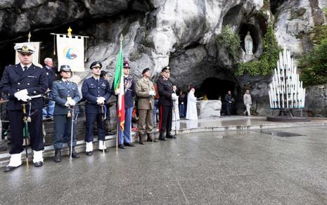 Lourdes: 61° Pellegrinaggio Militare Internazionale
