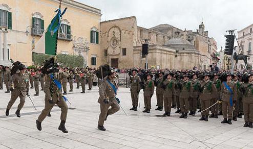 Matera: Concluso il raduno nazionale dei Bersaglieri