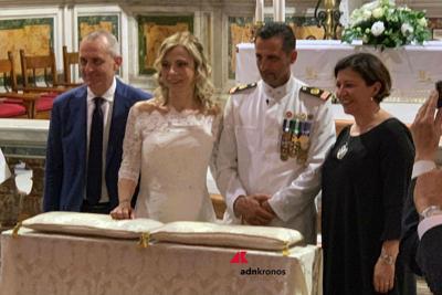 Matrimonio a Roma per il marò Massimiliano Latorre