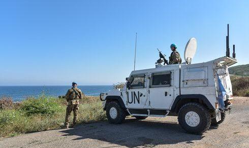 Libano: Missione UNIFIL, caschi blu italiani controllano la Blue Line