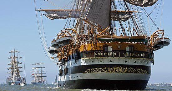 La Amerigo Vespucci fa tappa a Venezia: Programma delle visite