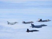 Astral Knight 2019: Caccia F-35 USA, Eurofighter Typhoon dell'Italia e MiG-21 della Croazia