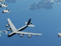 Astral Knight 2019: Ad Aviano arriva un bombardiere B-52 degli USA