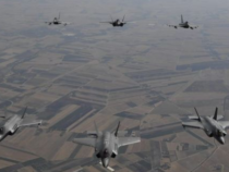 Italia: Missione di addestramento, F-35s statunitensi con caccia Eurofighter Typhoon
