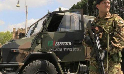 Operazione Strade Sicure: Più straordinari a soldati e Vigili del fuoco