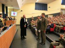 """Caserma """"Soccorso Saloni"""": Conferita la laurea a 190 Marescialli dell'Esercito Italiano"""