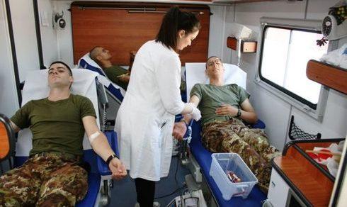 Iniziativa benefica: Capua, Donate dai volontari del RAV 663 sacche di sangue