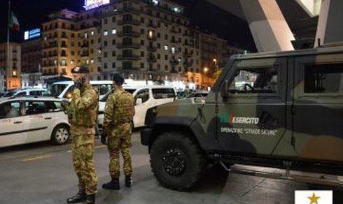 """Campania: 11 anni dall'inizio dell'Operazione """"Strade Sicure"""""""