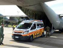 Trasporto urgente di organi da parte della 46ª Brigata Aerea di Pisa