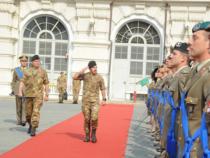 Torino: Il Generale Salvatore Farina in visita alla Scuola di Applicazione