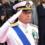 Taranto: Visita dell'ammiraglio Giuseppe Cavo Dragone al Centro Ospedaliero Militare (COM) della Marina Militare