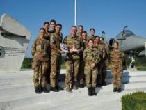 Verona: Gli allievi dell'Accademia Aeronautica di Pozzuoli in visita al 3° Stormo di Villafranca