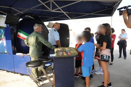 Bari: Piccoli pazienti piloti delle Frecce tricolori per un giorno