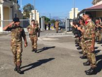 Sardegna: Visita del Generale di Corpo d'Armata Salvatore Farina