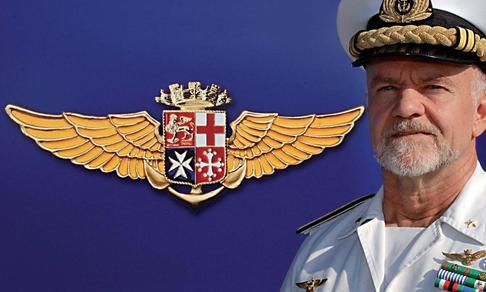 Marina militare: Ammiraglio Paolo Treu nominato Comandante in Capo della Squadra Navale