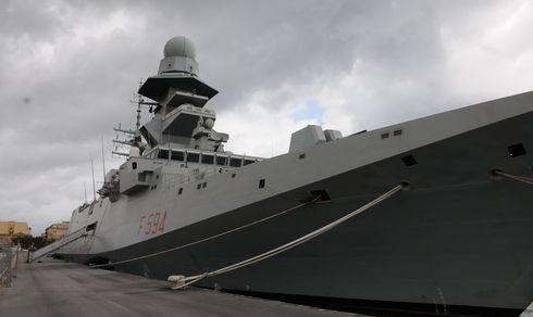 """Marina Militare: La Fregata """"Alpino"""" al Salone Nautico Internazionale di Genova"""